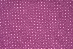 Seamless polka dots fabric Stock Images