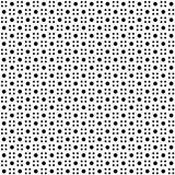 Seamless polka dots pattern Stock Photography