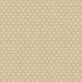 Seamless polka dots pattern Royalty Free Stock Photos