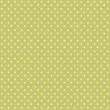 Seamless polka dots pattern background stock illustration