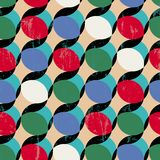 Seamless polka dots pattern Royalty Free Stock Photography