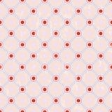 Seamless polka dots pattern, Stock Images