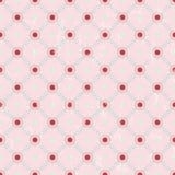 Seamless polka dots pattern, Stock Images
