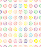 Seamless polka dots pattern. Royalty Free Stock Image