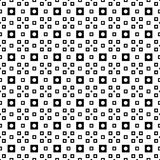Seamless polka dots and plaid pattern Stock Image
