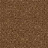 Seamless polka-dotted background Stock Images