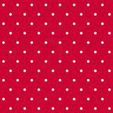 Seamless polka-dotted background royalty free stock images