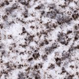 Seamless polluted snow texture, background. Royalty Free Stock Photo