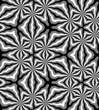 Seamless Polygonal Monochrome Pattern. Geometric Abstract Background. Suitable for textile, fabric and packaging Stock Photos