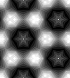 Seamless Polygonal Monochrome Pattern. Geometric Abstract Background.  Suitable for textile, fabric, packaging and web design. Stock Photos