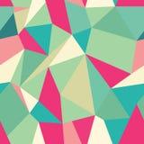 Seamless Polygonal Pattern, Background Stock Photography