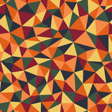 Seamless polygonal pattern. Seamless pattern with bright polygons Royalty Free Stock Image