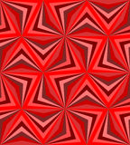 Seamless Polygonal Red Pattern. Geometric Abstract Background Royalty Free Stock Images