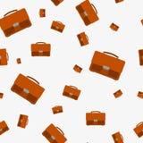 Seamless - portfolio bag Royalty Free Stock Photos