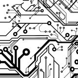Seamless Printed Circuit Board Stock Photos
