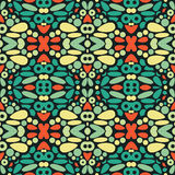 Seamless psychedelic patter Royalty Free Stock Photography