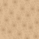 Seamless psychedelic pattern with eyes. Royalty Free Stock Photo