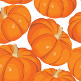 Seamless pumkin background Stock Images