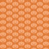 Seamless pumpkins Stock Photo