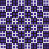 Seamless purple cube square industrial vector Royalty Free Stock Images