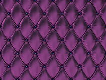 Seamless purple leather upholstery pattern, 3d illustration Royalty Free Stock Photo