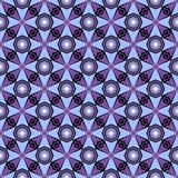 Seamless purple and lilac floral pattern stock photography