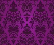 Seamless purple pattern. Royalty Free Stock Photo