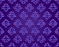 Seamless purple pattern Stock Images
