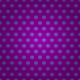 Seamless purple polka dots pattern. Seamless pattern of purple grid with circular holes, depth and gradient effects Royalty Free Stock Image