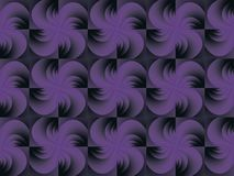 Seamless purple print. Floral ornament. Royalty Free Stock Photography