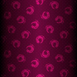 Seamless purple shiny pattern Royalty Free Stock Photography