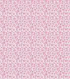 Seamless Purple Swirls stock illustration