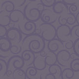 Seamless Purple Swirls Stock Image