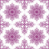 Seamless purple tracery Royalty Free Stock Photo