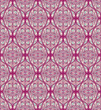Seamless purple turquoise pattern Stock Images