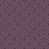 Seamless purple wallpaper pattern. Stock Images