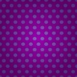 Seamless purpur polkaprickmodell Royaltyfri Bild