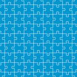 seamless puzzle background blue Royalty Free Stock Photo