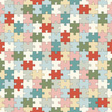 seamless puzzle background Royalty Free Stock Photo