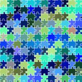 Seamless puzzle texture 2 Stock Images