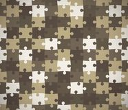 Seamless puzzle texture. Stock Images