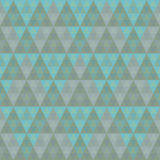 Seamless pyramid pattern Stock Images