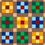 Seamless Quilt Background Stock Image