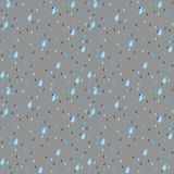 Seamless Rain Background Royalty Free Stock Image