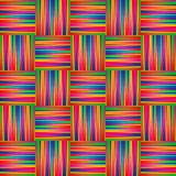 Seamless rainbow Background with Lines and Stripes Royalty Free Stock Photos