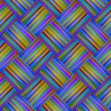Seamless rainbow Background with Lines and Stripes Royalty Free Stock Photo