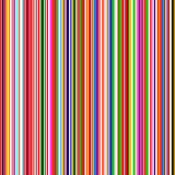 Seamless rainbow curved stripes color line art vector background Stock Photography