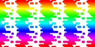 Seamless rainbow mosaic tiles Royalty Free Stock Photo