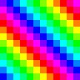 Seamless Rainbow Pattern Stock Photography