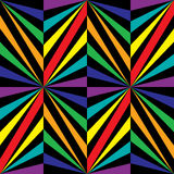 Seamless Rainbow Poligonal Pattern. Geometric Abstract Background Royalty Free Stock Images